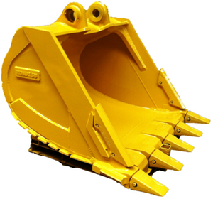 highly quality PC200/SK200/R200 20ton excavator bucket for quarry standard digger