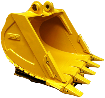 ISO9001 certificated Heavy duty rock bucket Excavator bucket