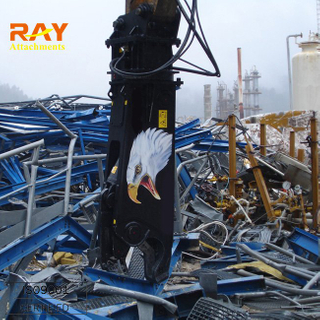 hydraulic steel shear / pulverizer for excavators