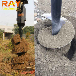 REA4000 Earth Auger drill for Excavator