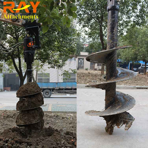 REA3500 Earth Auger drill for Excavator