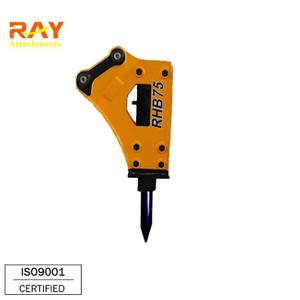 Side Type Hydraulic Breaker For 0.7~8 T Excavator