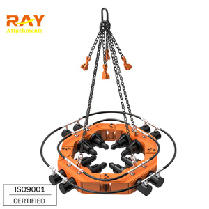 Construction Tools Excavator Attachment Hydraulic Pile Breaking Machine