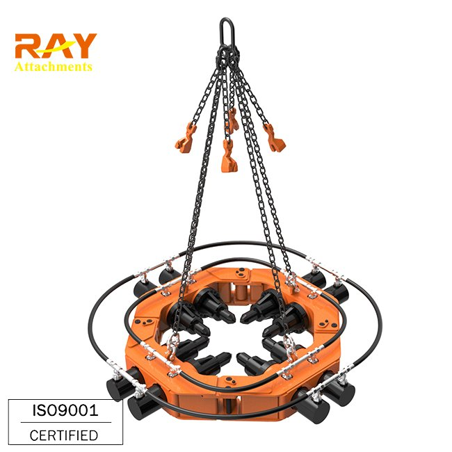 Hydraulic concrete cutting machine pile breaker for square foundation piles