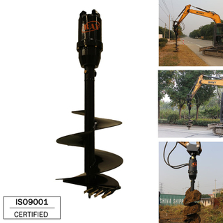 REA12000 model hydraulic motor Earth Auger drilling