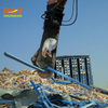 fully rotating scrap shear for processing steel in scrap