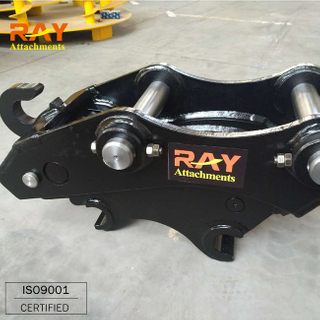 Tilt Rotating Quick Hitch for 1- 4 Ton Excavator