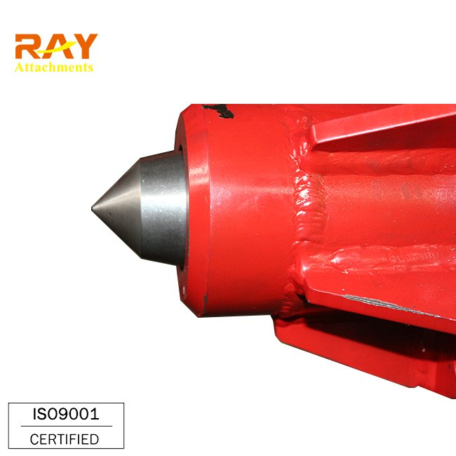 Hydraulic concrete round pile head breaking machine for excavator used