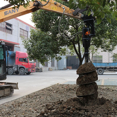 REA12000 model Earth Auger for excavator attachments