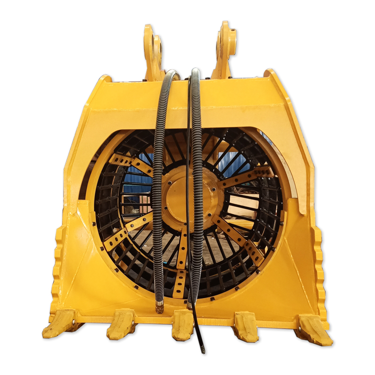 Excavator 360 Degree Rotary Screen Bucket for Screening Sand Stone