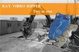 How to operate the vibro ripper correctly