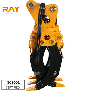RHG02 model Wood grapple For 4~5 T Excavator