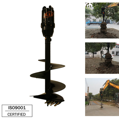 REA7000 model Earth Auger for 7-10T Excavator