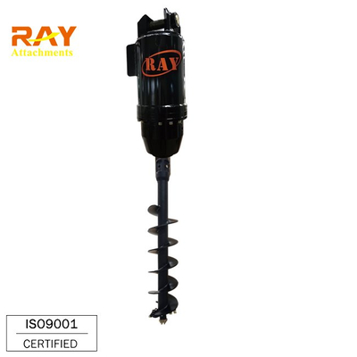 REA5500 model hydraulic Earth Auger drilling