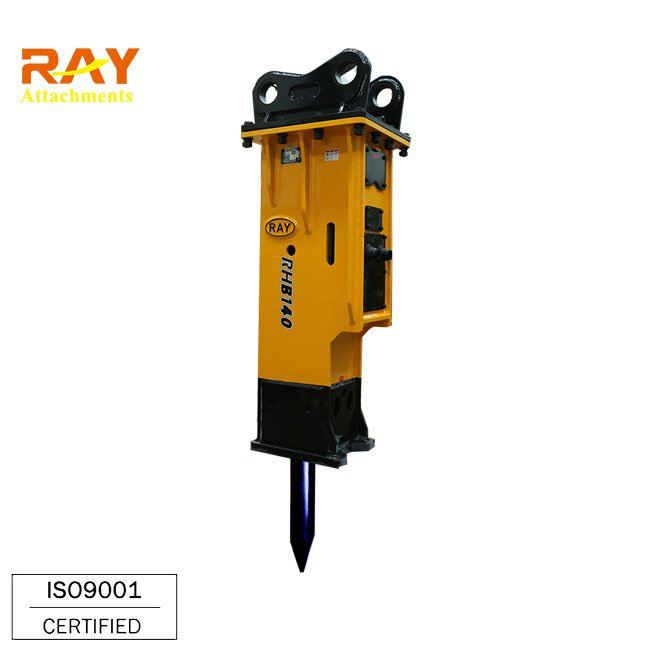 Hydraulic stone breaker spare parts used for backhoe loader type