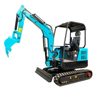 RAY&YG Joystick Crawler Zero Swing with Square Shape Body Mini Excavator